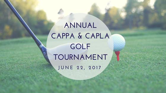 Cappa capla annual golf tournament 2017 cappa for Cappa annua